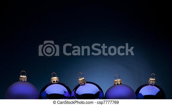 Christmas night - csp7777769