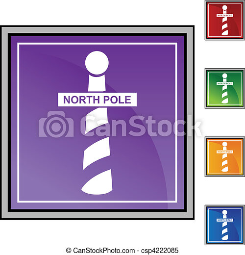 Christmas North Pole - csp4222085