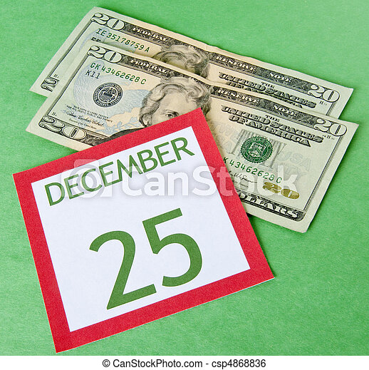 Christmas on a Budget - csp4868836