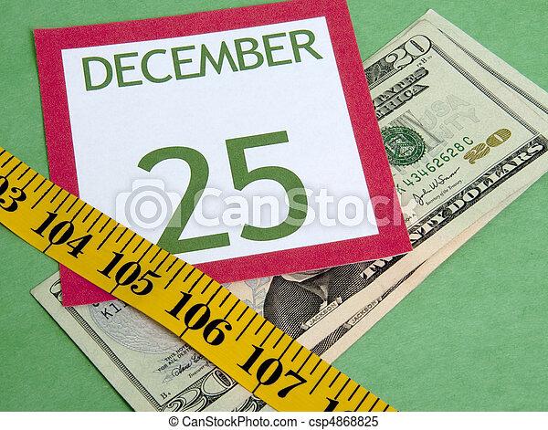 Christmas on a Budget - csp4868825