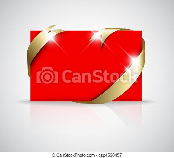 Christmas or wedding card - csp4530457