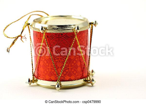 Christmas Drum.Christmas Ornament Drum