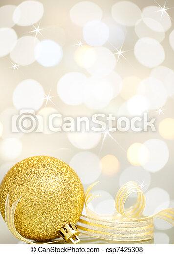 christmas ornament - csp7425308