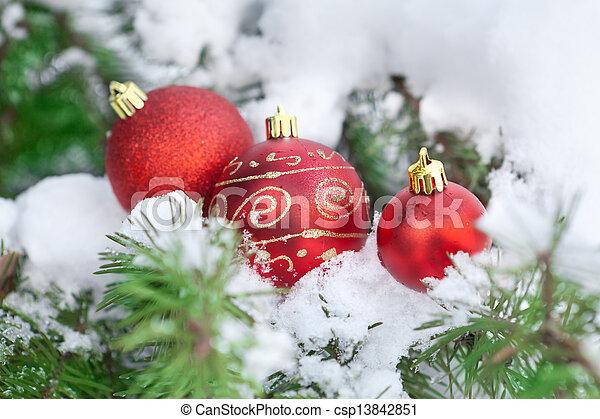 Christmas ornament - csp13842851