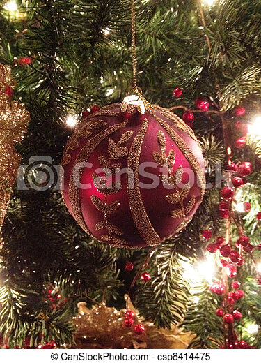 Christmas Ornament - csp8414475