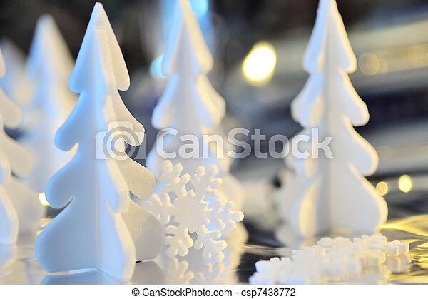 christmas ornament - csp7438772