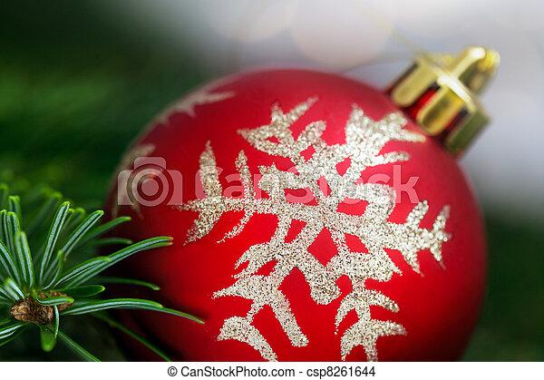 Christmas ornament - csp8261644