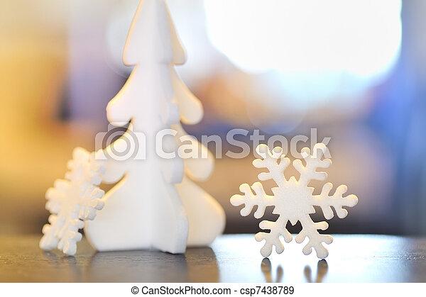 christmas ornament - csp7438789