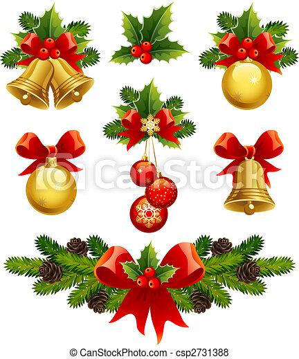 christmas ornaments - csp2731388