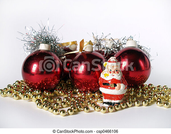 Christmas ornaments - csp0466106