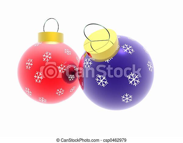 Christmas ornaments. - csp0462979