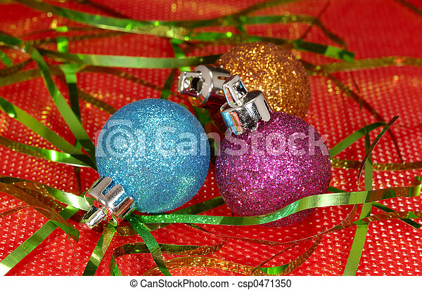 Christmas Ornaments - csp0471350