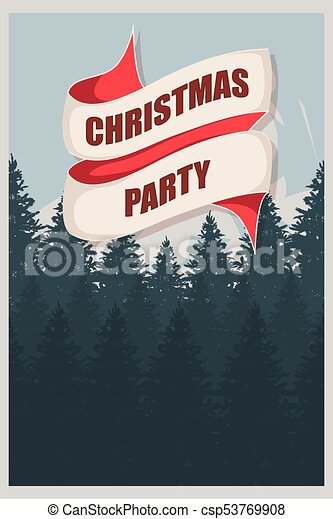 christmas party flyer template an elegant christmas invitation in
