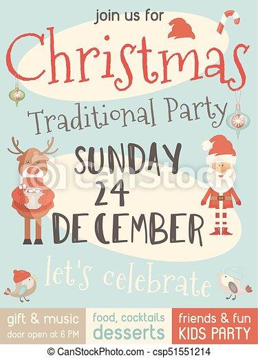 Christmas Party Invitation.Christmas Party Invitation
