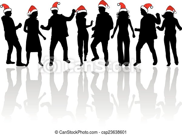 christmas party csp23638601