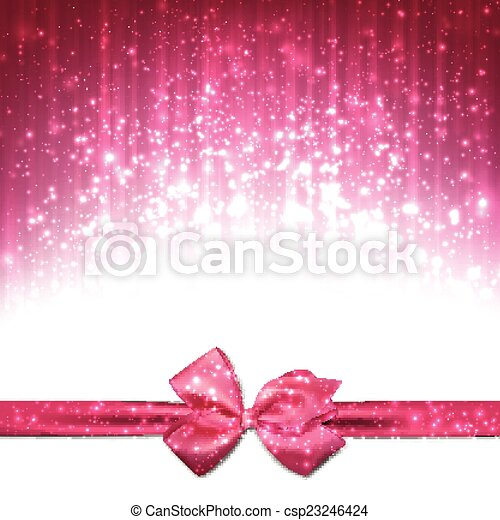 Christmas pink abstract background. - csp23246424
