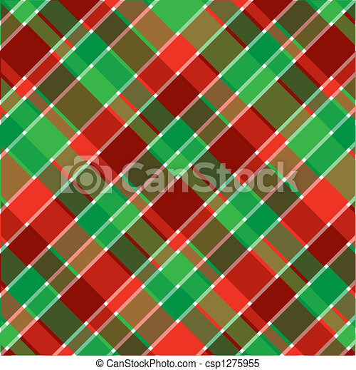 Christmas plaid. A plaid background pattern in christmas ...