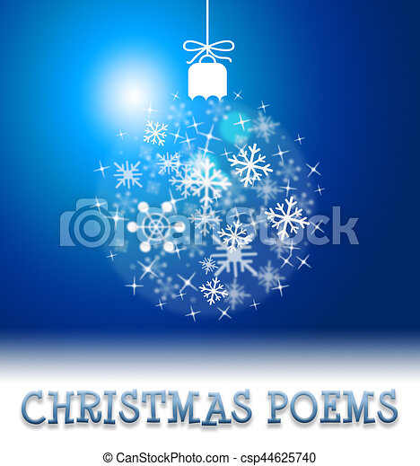 Christmas poems means happy festive greeting verse. Christmas poems ...