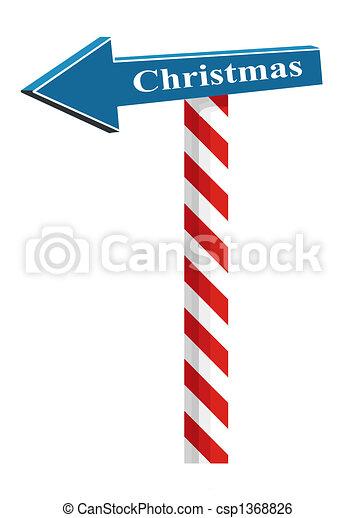 Christmas Arrow.Christmas Pointer Funny Arrow