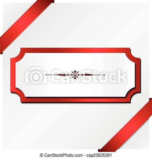 Christmas Present Background - csp23635391