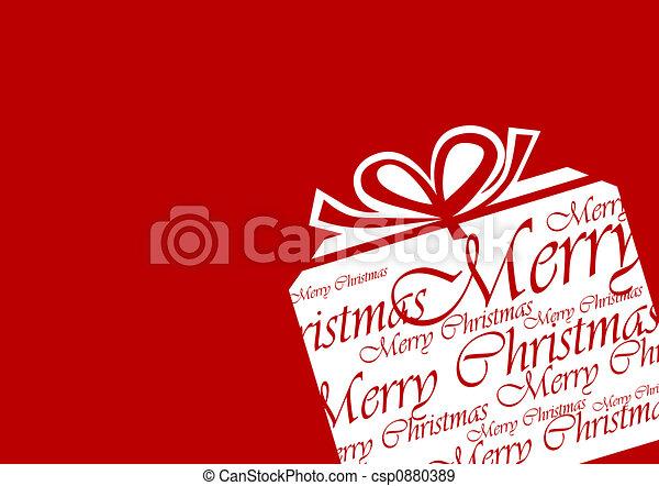 christmas present - csp0880389