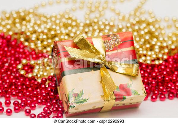 Christmas present - csp12292993