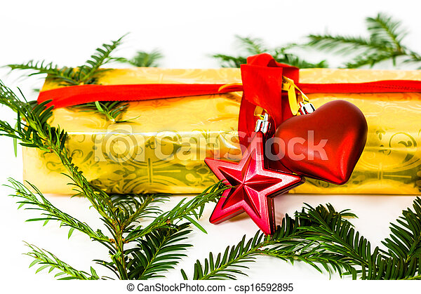 christmas present - csp16592895