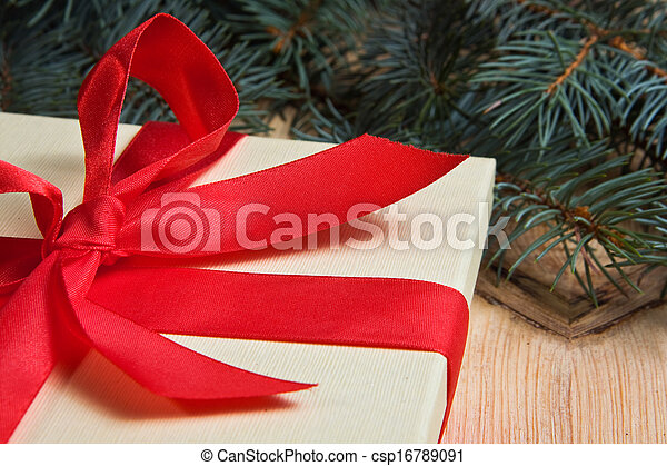 Christmas present - csp16789091