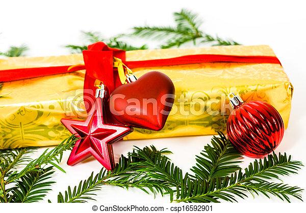 christmas present - csp16592901