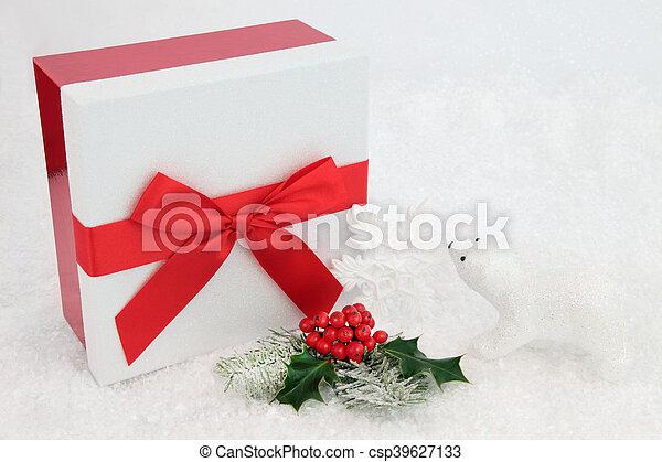 Christmas Present Time - csp39627133