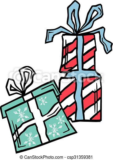 Christmas Presents Clipart.Christmas Presents