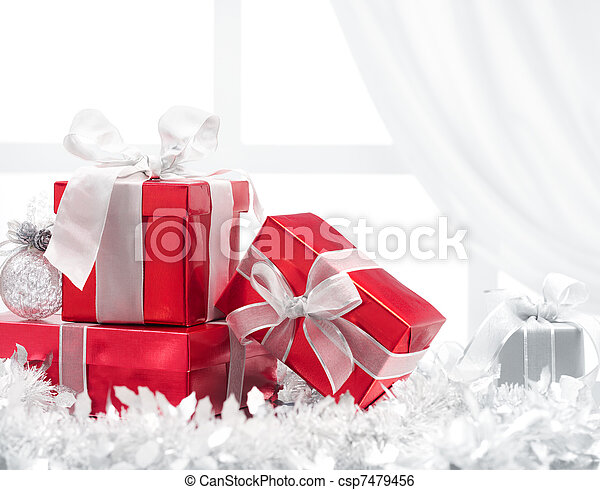 christmas presents - csp7479456