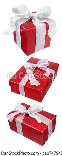 christmas presents - csp7479455