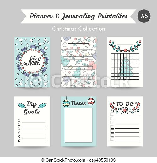photo relating to Printable Journaling Cards referred to as Xmas Printable Journaling Playing cards. Line Style and design Jornal Internet pages
