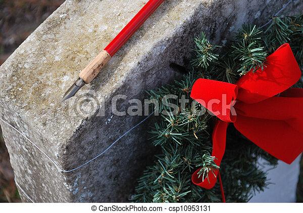 Christmas remembrance - csp10953131