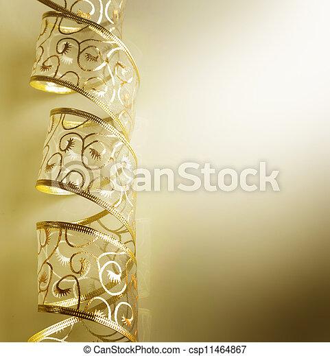 Christmas Ribbon - csp11464867