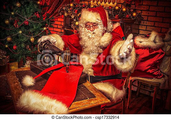 Christmas rush - csp17332914
