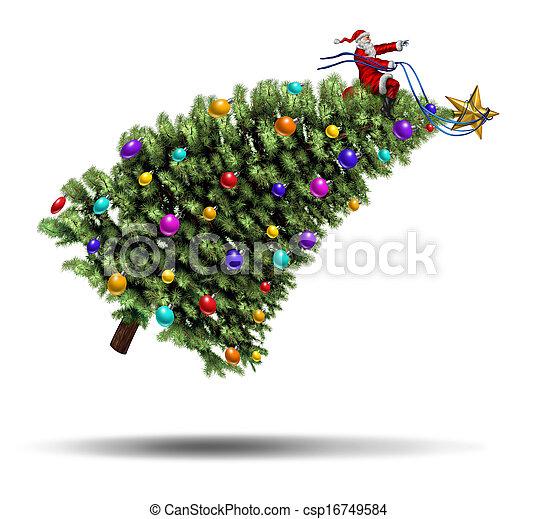 Christmas Rush - csp16749584