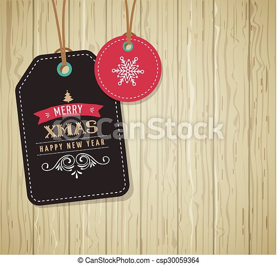 Christmas Sale, Gift Tags and labels - csp30059364