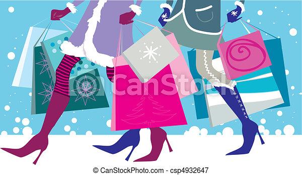 Christmas sales - csp4932647