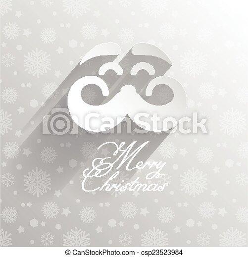 Christmas Santa background  - csp23523984