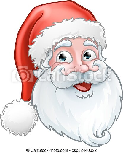 Christmas Cartoon Drawings.Christmas Santa Claus Cartoon