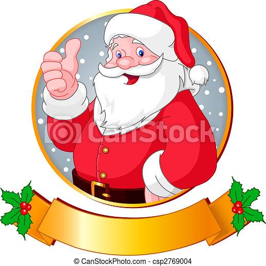Christmas Santa - csp2769004