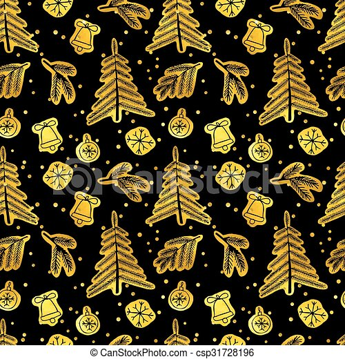 Christmas seamless pattern.  - csp31728196
