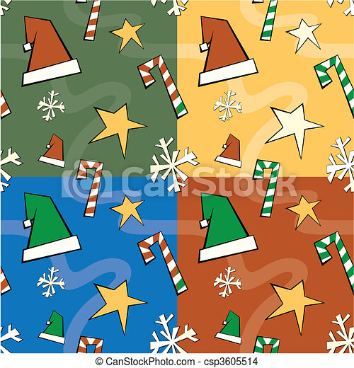 Christmas Seamless Pattern - csp3605514