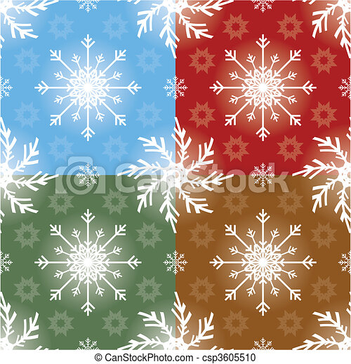 Christmas Seamless Pattern - csp3605510