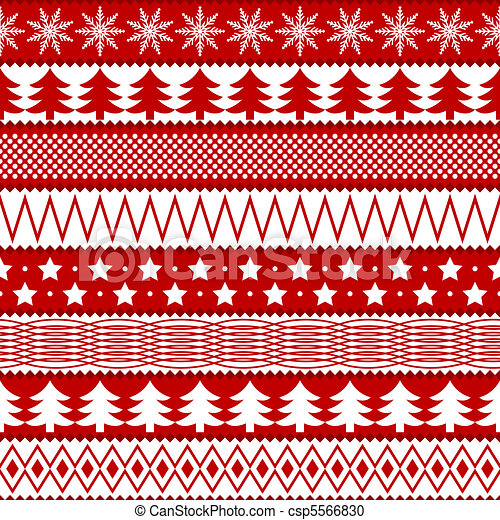 Christmas seamless texture - csp5566830