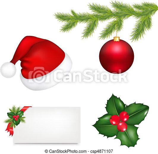 Christmas Set - csp4871107