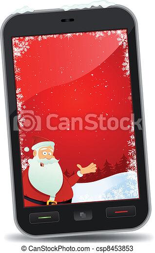 Christmas Smartphone Wallpaper - csp8453853