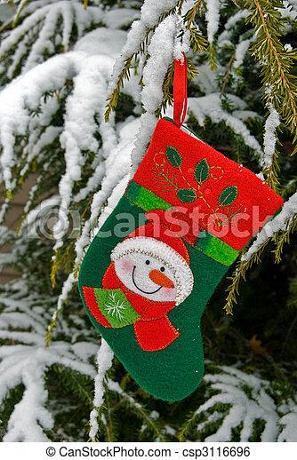 Christmas Snow - csp3116696